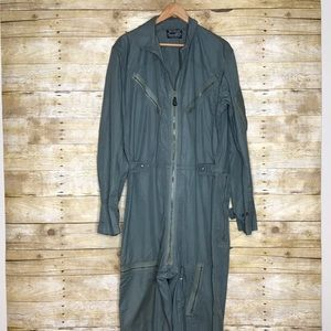Vintage Flying Suit Coveralls Men's Large Like New